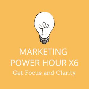 Creationz Marketing Power Hours x6, Marketing Support, Nottingham